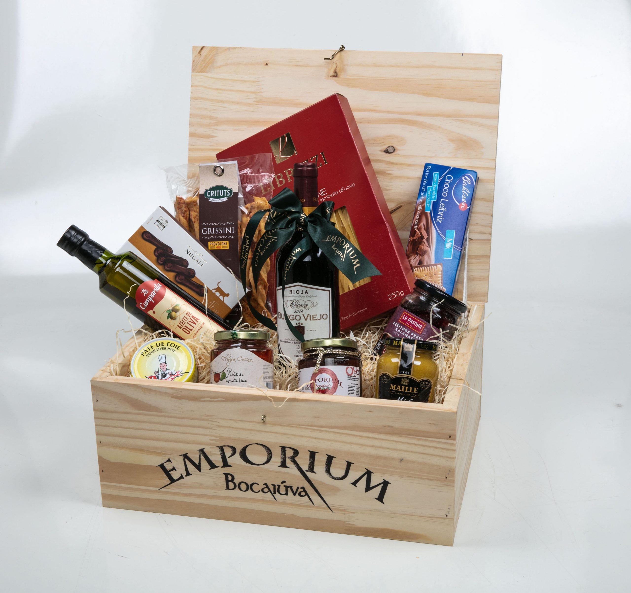 Caixa Pequena Vinho Burgo Viejo